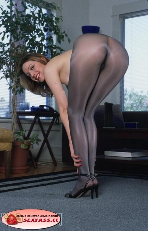 Крутые секси жопени в колготках