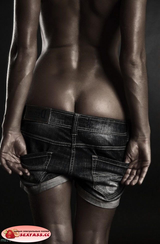 Секси жопочки девушек в шортиках