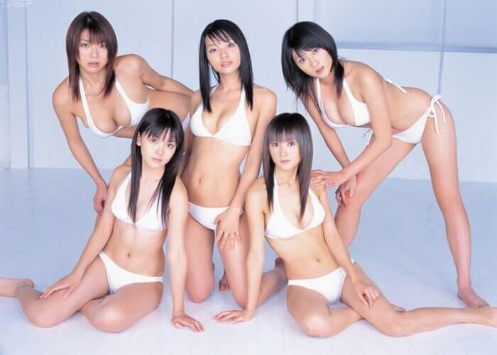 Японки на фото — красивые попки