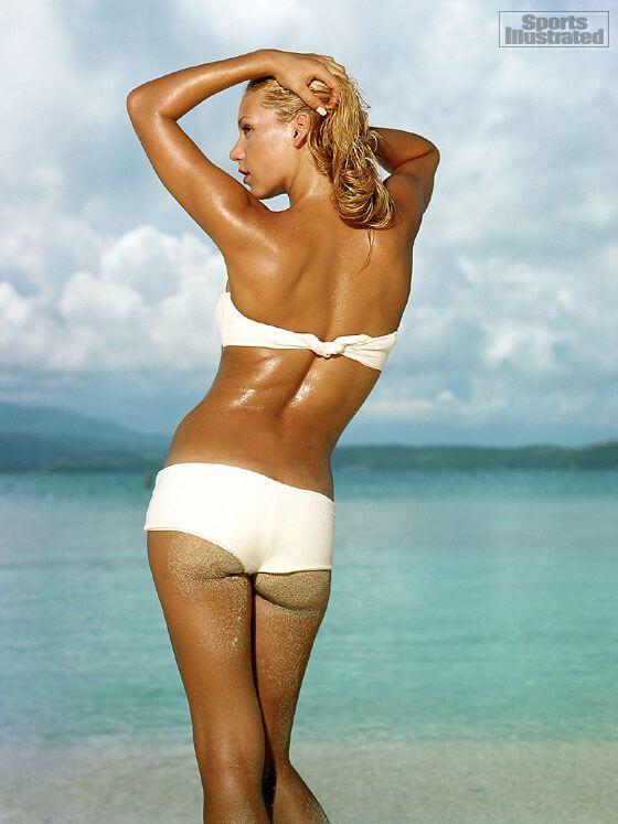 Анна Курникова — Спортивная попка на фото