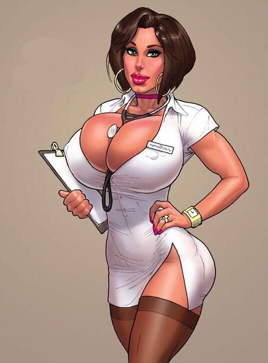 Неимоверно эротичные попы медсестёр (60 фото)
