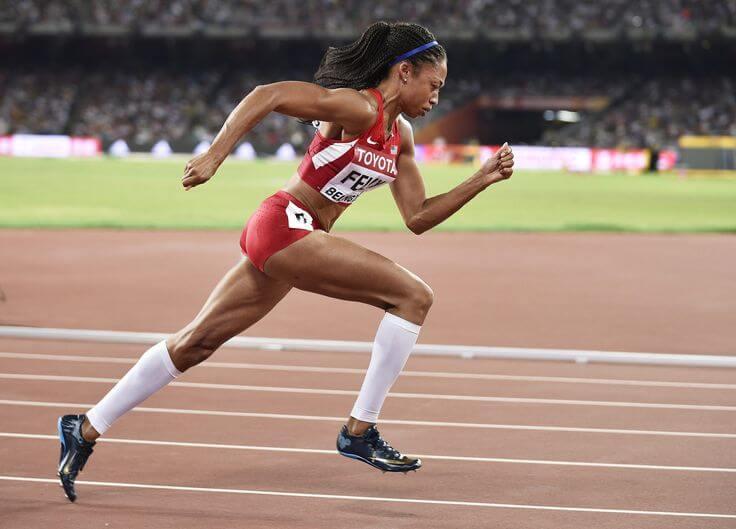 Попы известных американских спортсменок