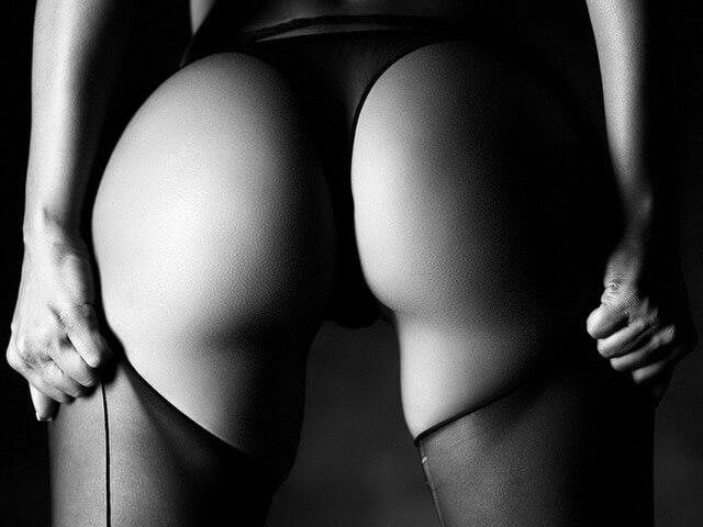 Неумеренно сексуальные седалища фотомоделей