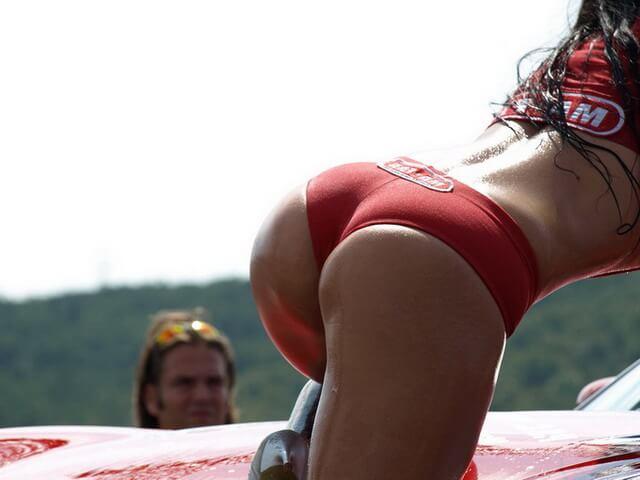Чертовски секси жопени немок